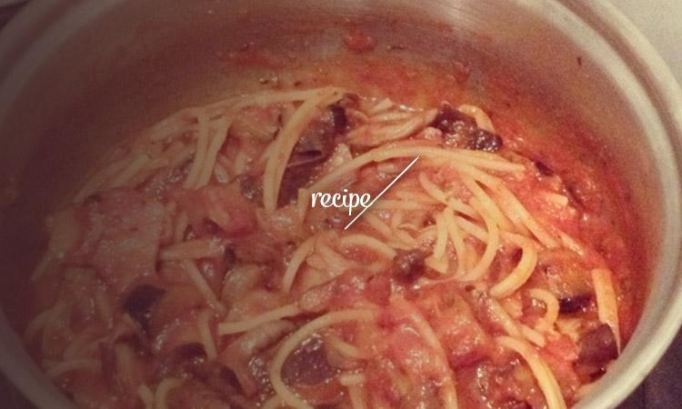 recipe_mushroomspag